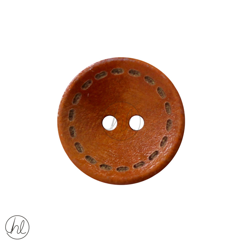 ASSORTED WOODEN BUTTONS (20MM) (EACH)