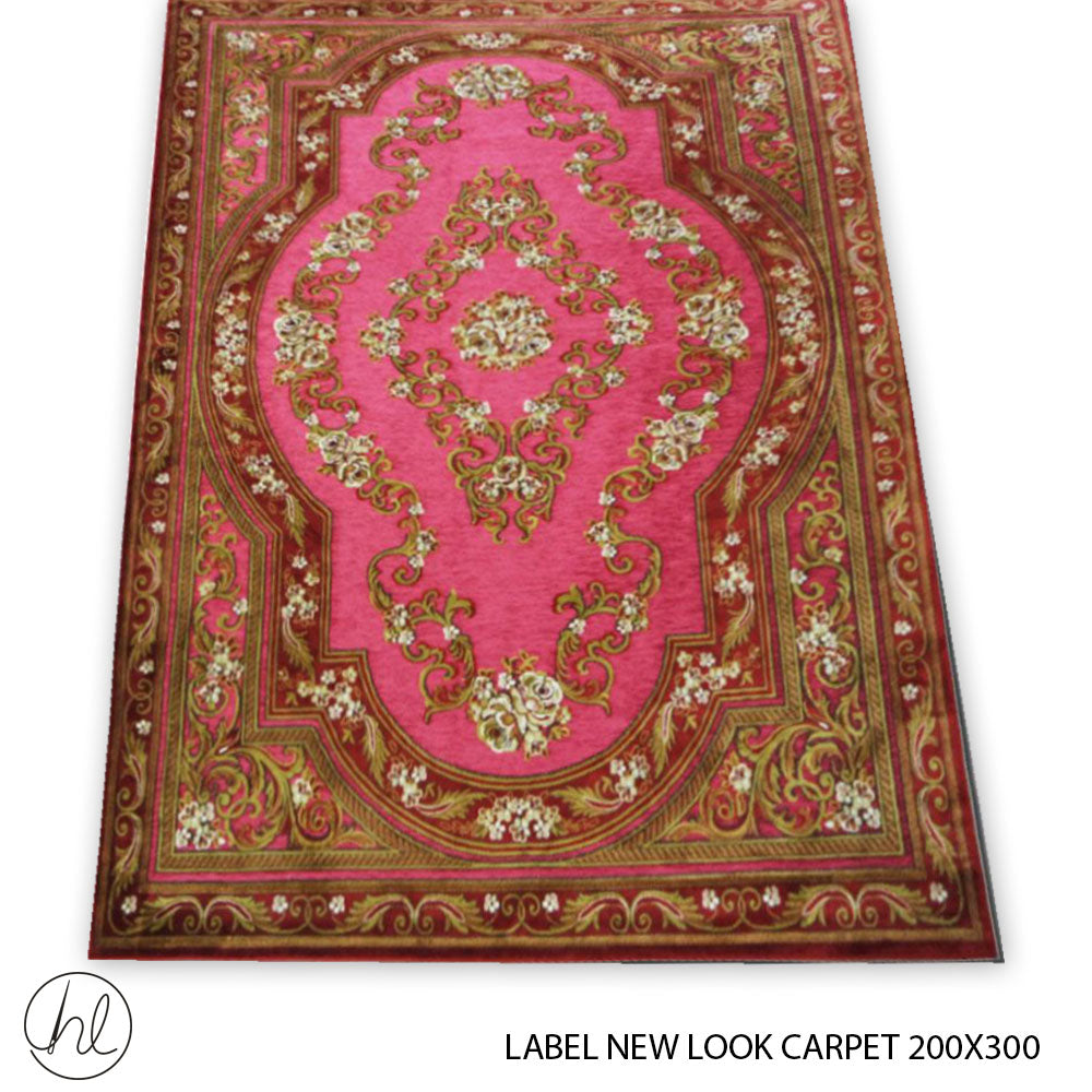 CARPET LABEL NEW LOOK (200X300) (DESIGN 44)