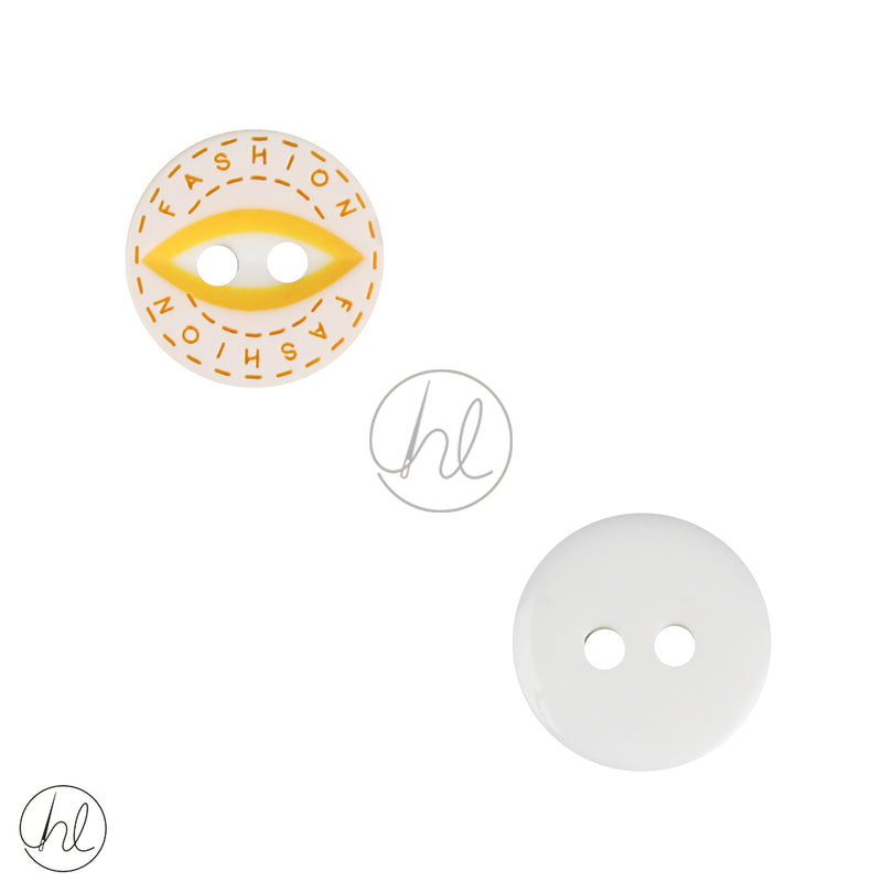 BUTTONS BABY 045-228 YELLOW