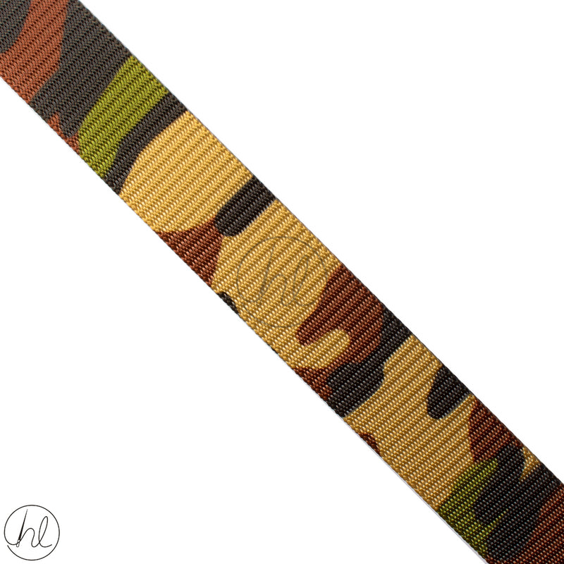 CAMO WEBBING BROWN (37MM)