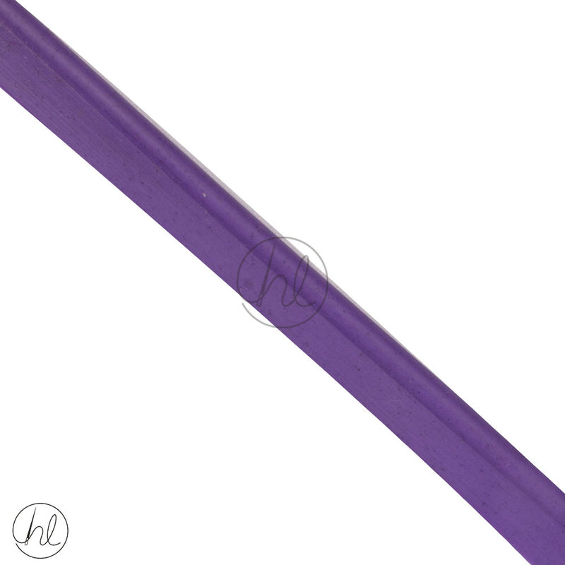 PLASTIC PIPING CORD PURPLE 11MM (P/METER )