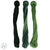 100% COTTON PERLE THREAD 3X9M (58-XMAS GREEN) (PER SET)