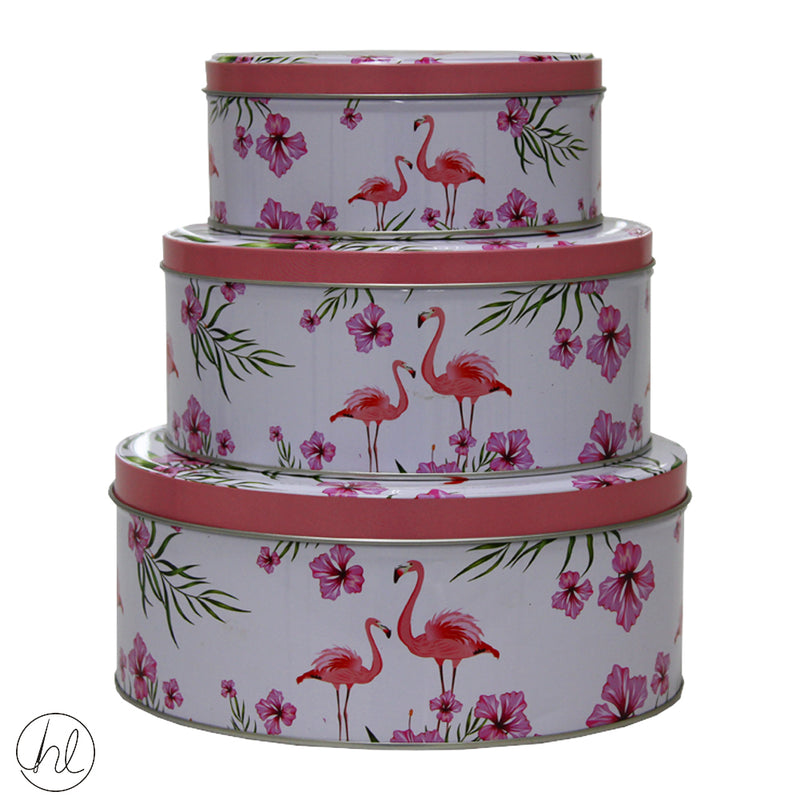 BISCUIT TIN ROUND ABY-1193