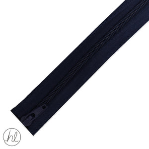 NYLON OPEN END ZIPS - 80CM