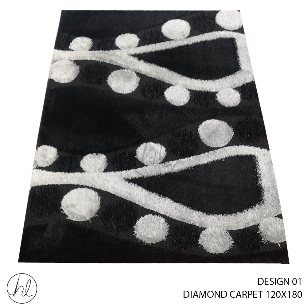 DIAMOND CARPET (120X180) (DESIGN 01)
