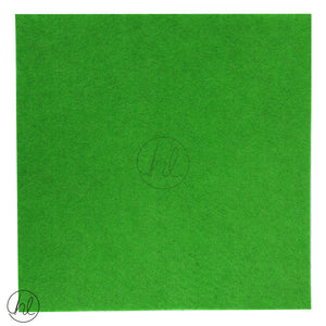 FELT BLOCKS (215MM X 215MM) GREEN