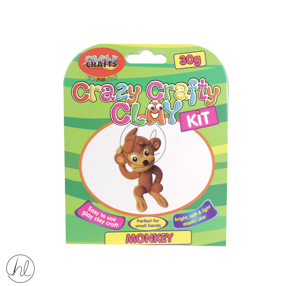 CRAZY CRAFT CLAY KIT MONKEY CK30