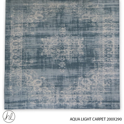 AQUA LIGHT CARPET (200X290) (DESIGN 02)