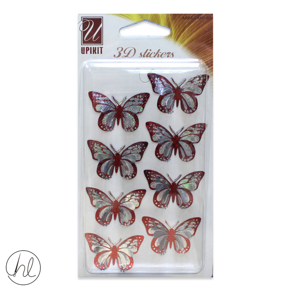 3D SCRAPBOOK STICKERS (LL037)