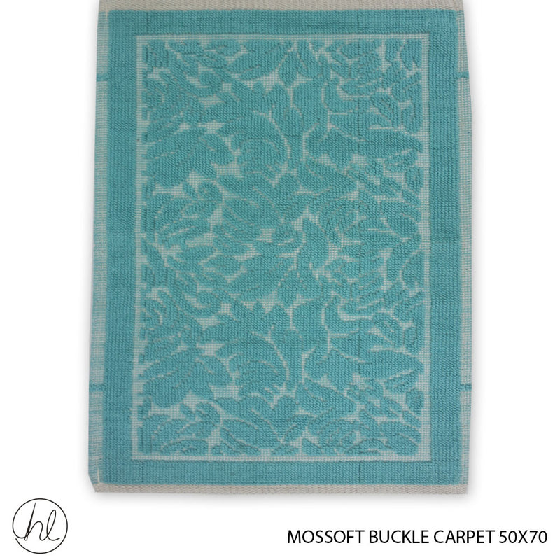 MOSSOFT 100% COTTON CARPET (50X70) (DESIGN 01) (BUY 2 FOR R99.99)