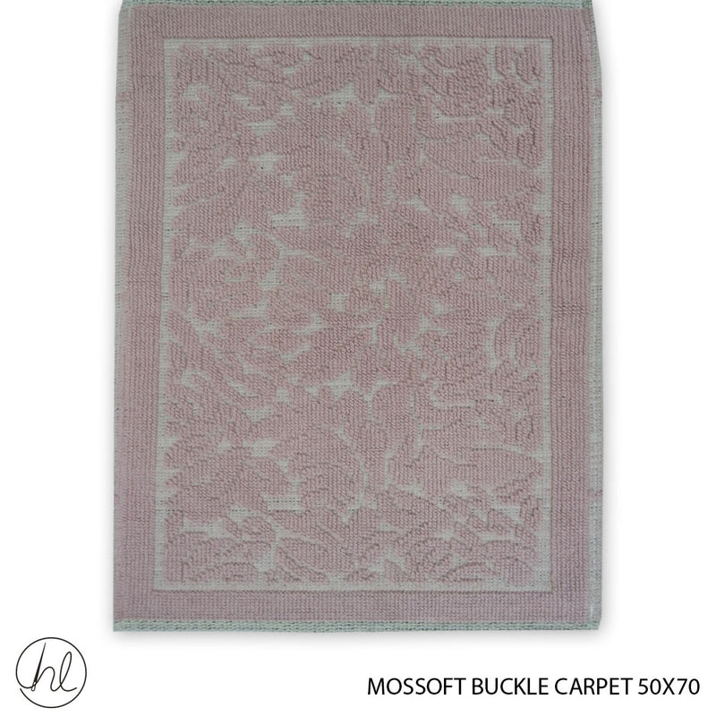 MOSSOFT 100% COTTON CARPET (50X70) (DESIGN 03) (BUY 2 FOR R99.99)