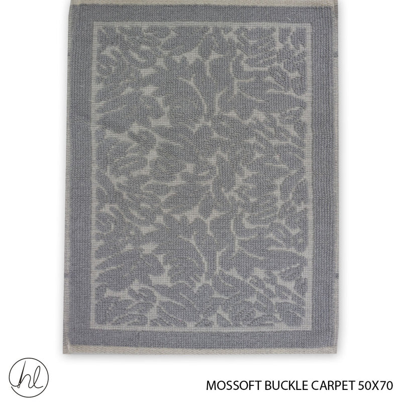 MOSSOFT 100% COTTON CARPET (50X70) (DESIGN 04)  (BUY 2 FOR R99.99)