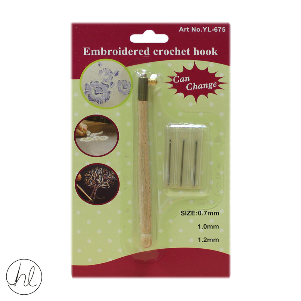TAMBOUR EMBROIDERY NEEDLE SET