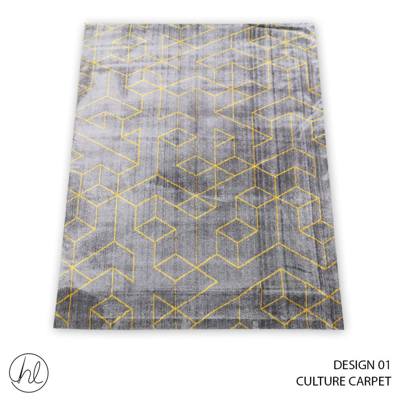 CULTURE CARPET 130X190 (DESIGN 01)