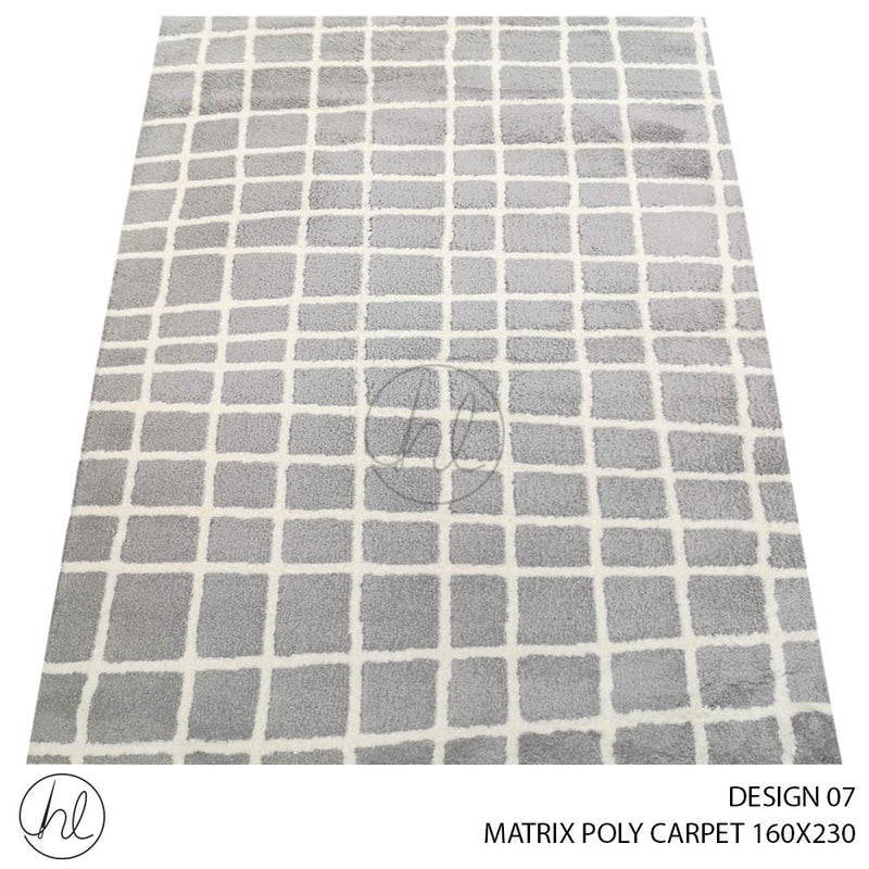 MATRIX POLY CARPET (160X230) (DESIGN 07)