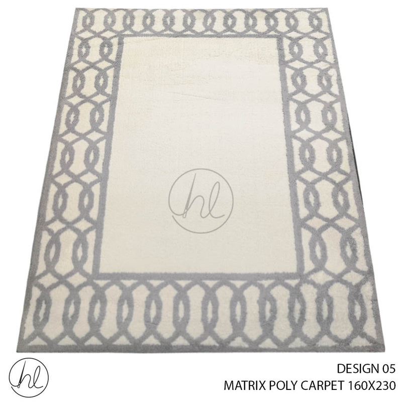 MATRIX POLY CARPET (160X230) (DESIGN 05)