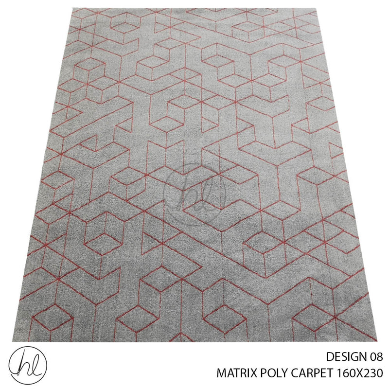 MATRIX POLY CARPET (160X230) (DESIGN 08)
