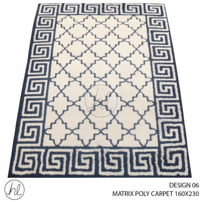 MATRIX POLY CARPET (160X230) (DESIGN 06)