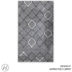 MATRIX POLY CARPET (80X150) (DESIGN 01)