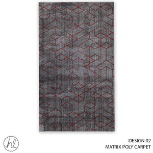 MATRIX POLY CARPET (80X150) (DESIGN 02)