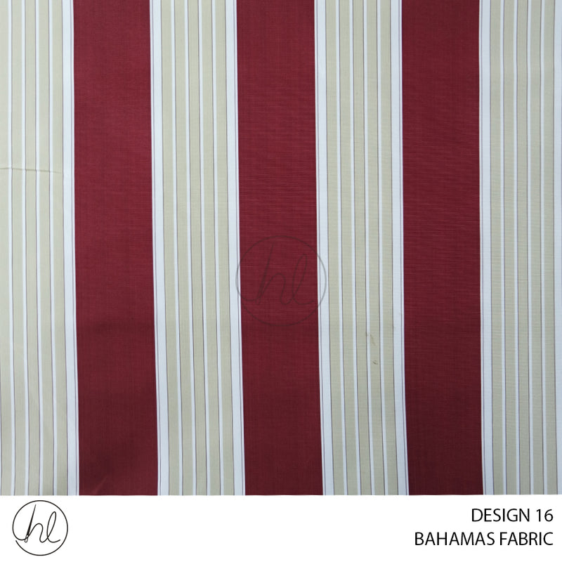 BAHAMAS CANVAS (ONLY SUITABLE FOR OUTDOOR) (DESIGN 16) (150CM) (PER M)