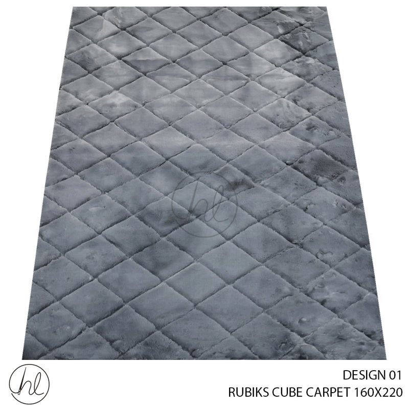 RUBIKS CUBE CARPET (160X220) (DESIGN 01)