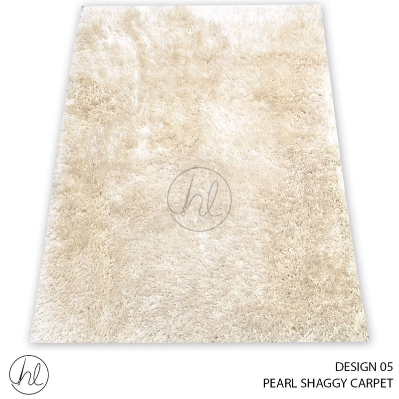 PEARL SHAGGY CARPET (160X230) (DESIGN 05)