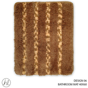 BATHROOM MAT (40X60) (DESIGN 06)