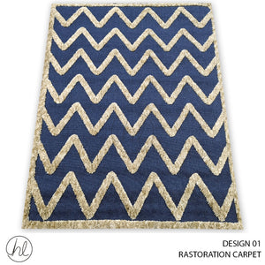RASTORATION  CARPET (160X230) (DESIGN 01)