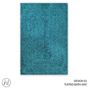 TUFFED BATH MAT (50X80) (DESIGN 01)