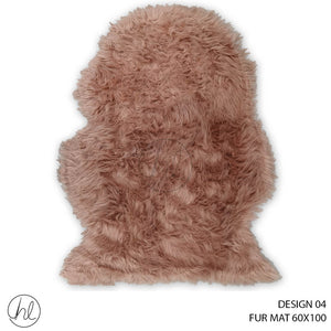 FUR MAT (60X100) (DESIGN 04)