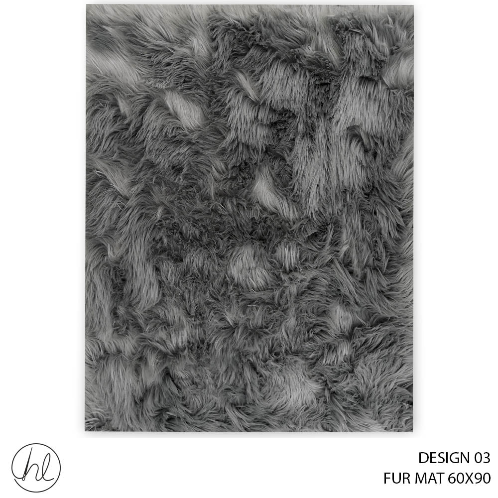FUR MAT (60X90) (DESIGN 03)