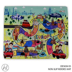 NON-SLIP KIDDIES MAT (DESIGN 05) (80X100)