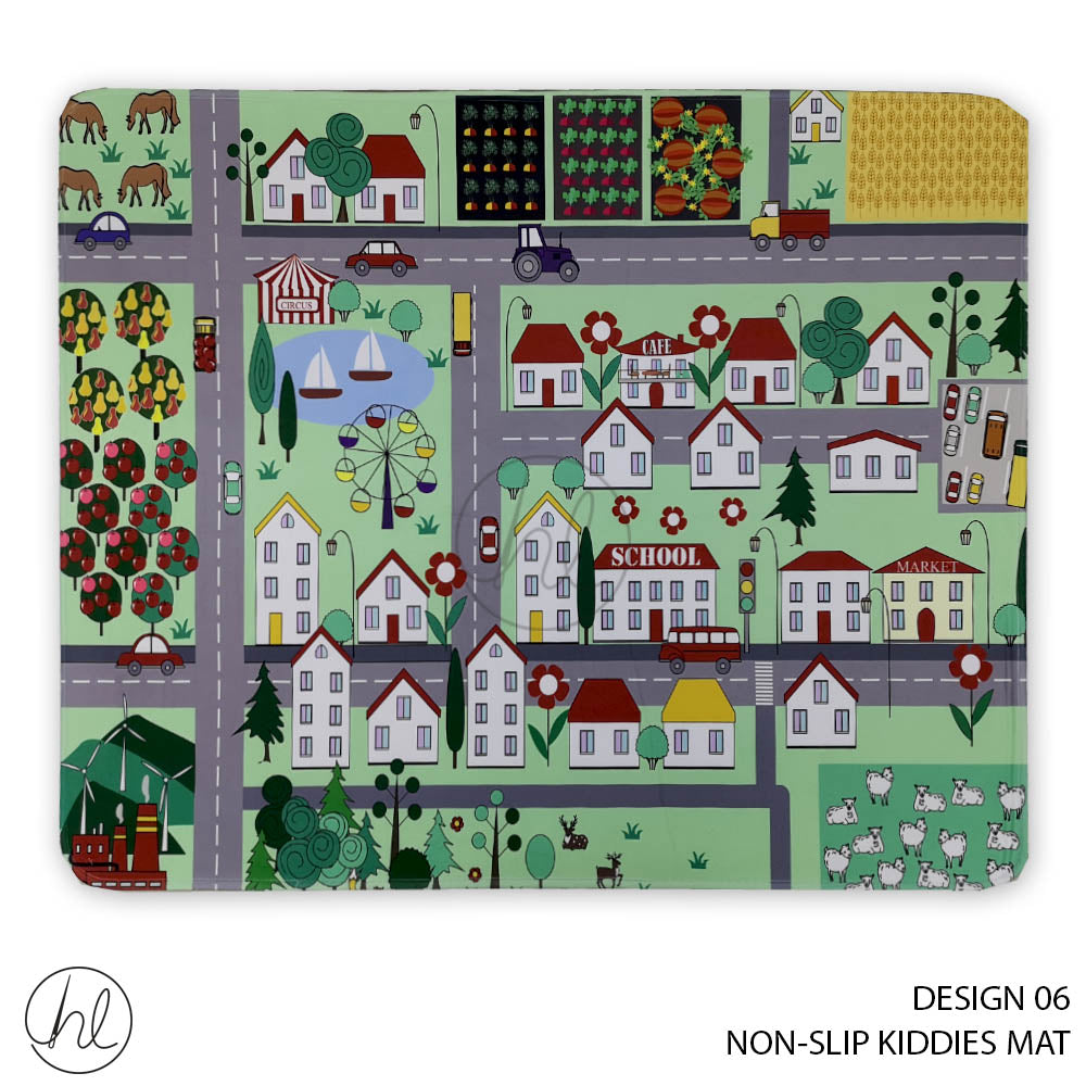 NON-SLIP KIDDIES MAT (DESIGN 06) (80X100)