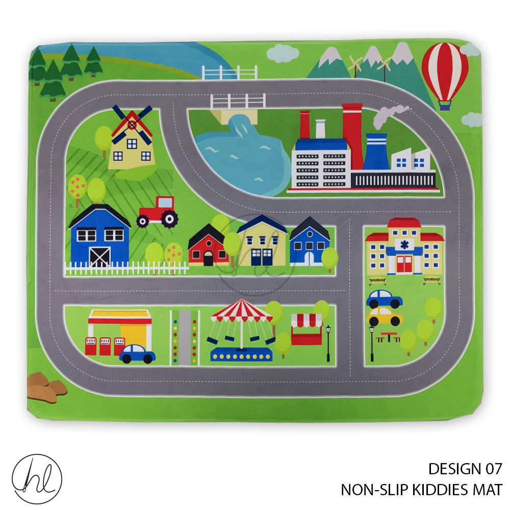 NON-SLIP KIDDIES MAT (DESIGN 07) (80X100)