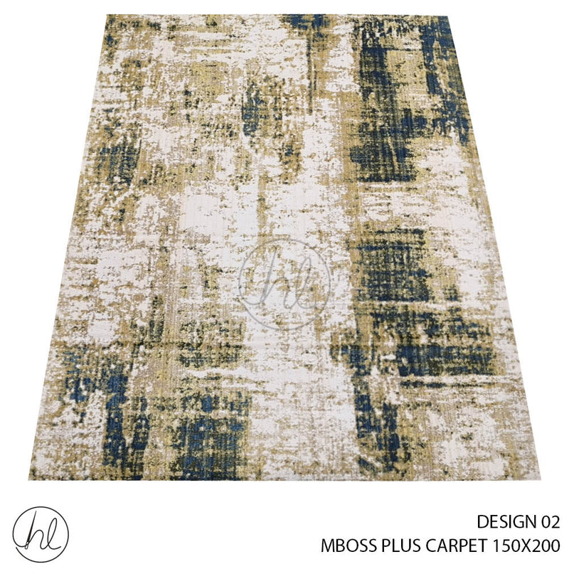 MBOSS PLUS CARPET (150X200) (DESIGN 02)