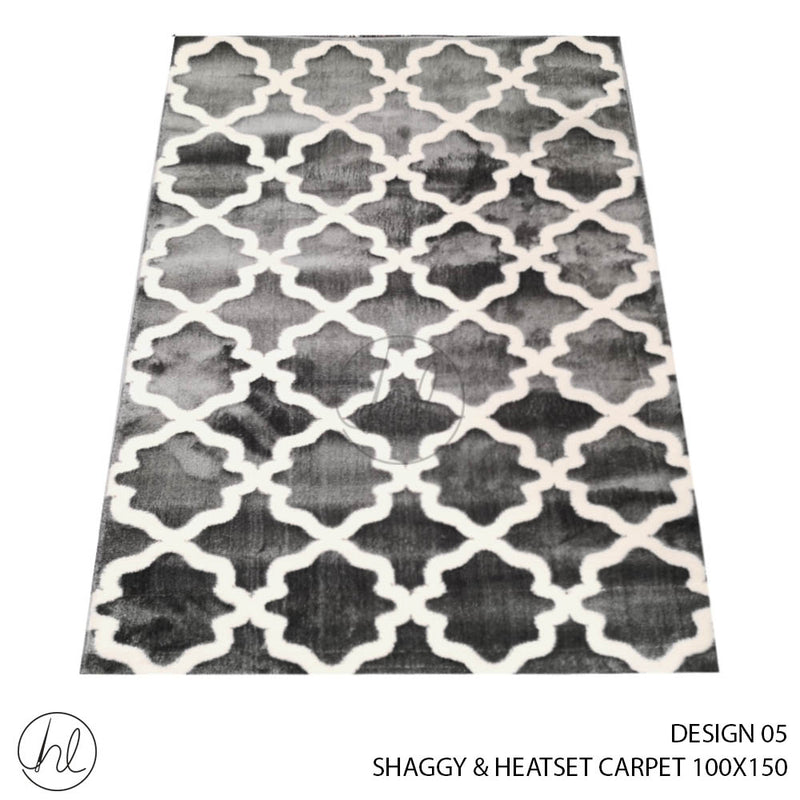 SHAGGY & HEATSET CARPET (100X150) (DESIGN 05)