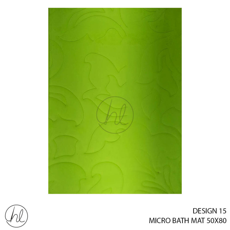 MICRO BATH MAT (50X80) (DESIGN 15)