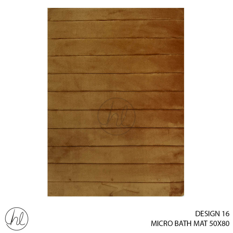 MICRO BATH MAT (50X80) (DESIGN 16)