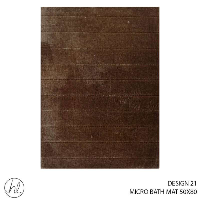 MICRO BATH MAT (50X80) (DESIGN 21)
