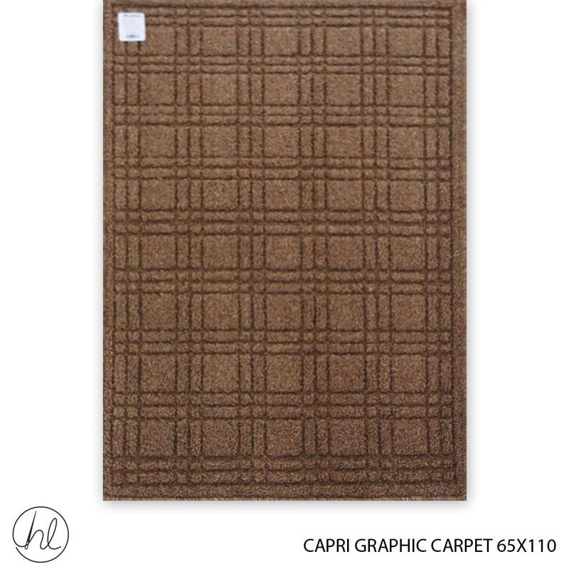 CAPRI GRAPHIC CARPET (65X110) (DESIGN 7)