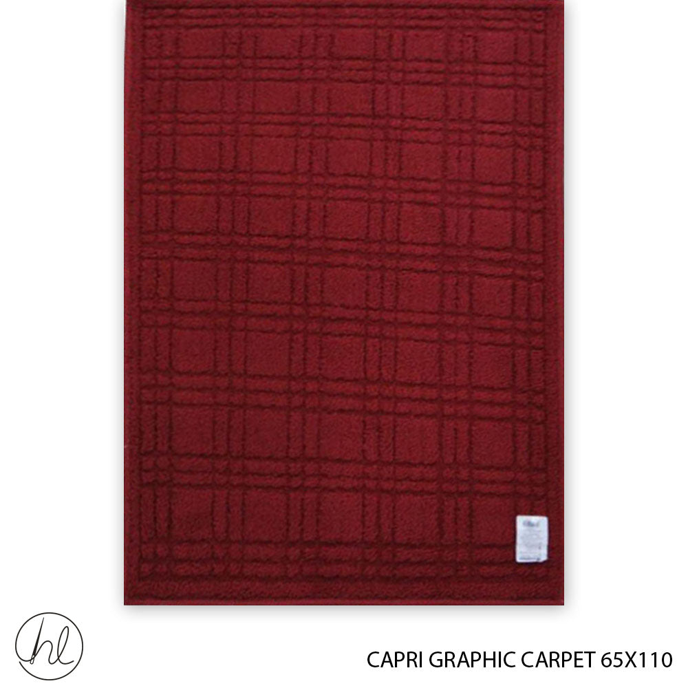 CAPRI GRAPHIC CARPET (65X110) (DESIGN 8)