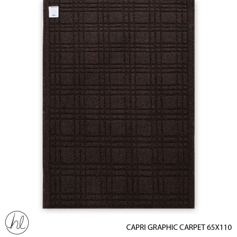 CAPRI GRAPHIC CARPET (65X110) (DESIGN 9)
