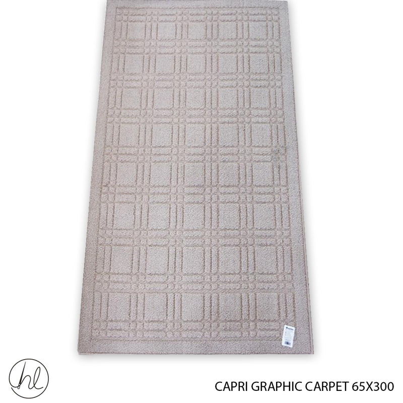 CARPET CAPRI GRAPHIC (65X300) (DESIGN 1)