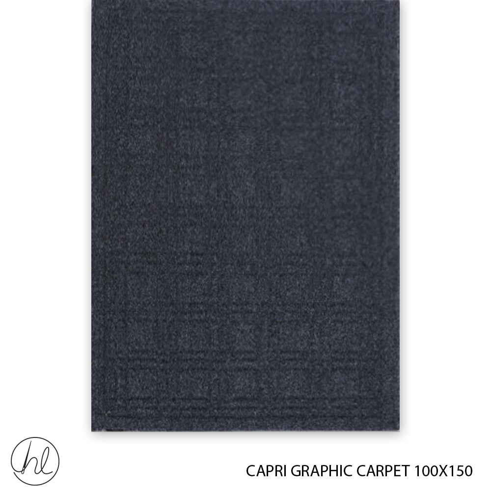 CAPRI GRAPHIC CARPET (100X150) (DESIGN 2)