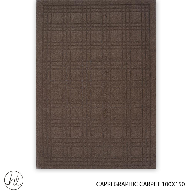 CAPRI GRAPHIC CARPET (100X150) (DESIGN 3)