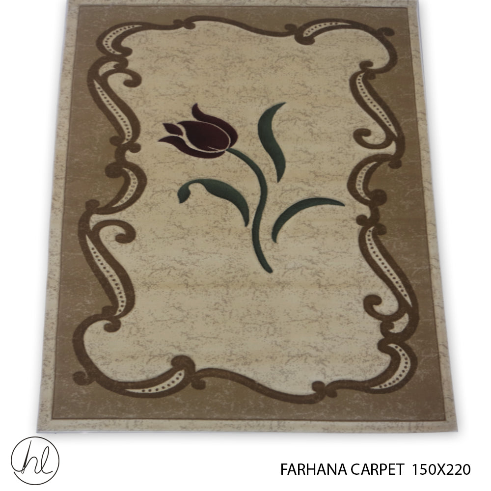 FARHANA CARPET (150X220) (DESIGN 7)