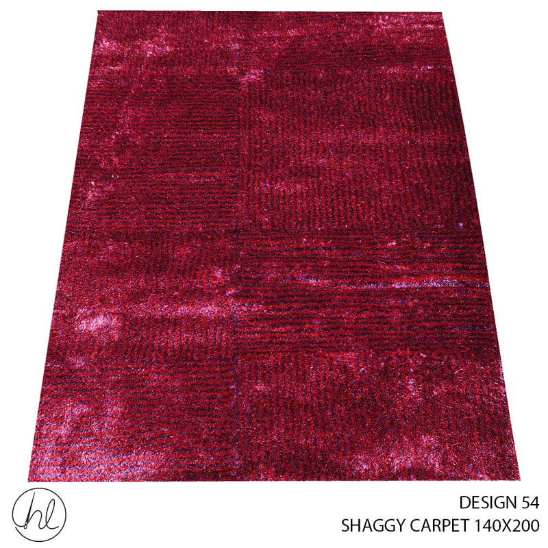 SHAGGY CARPET (140X200) (DESIGN 54)