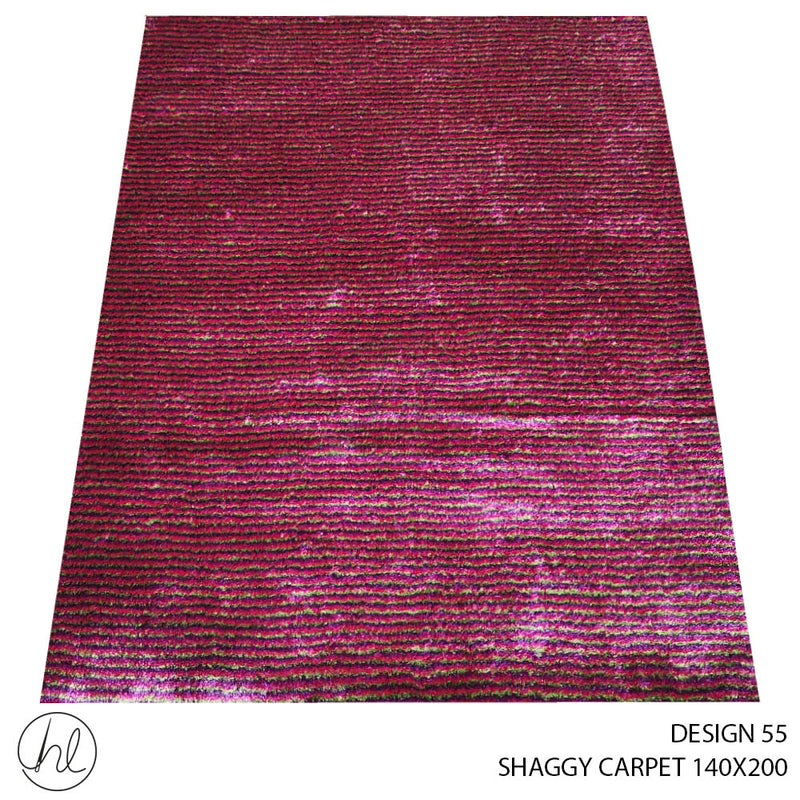 SHAGGY CARPET (140X200) (DESIGN 55)