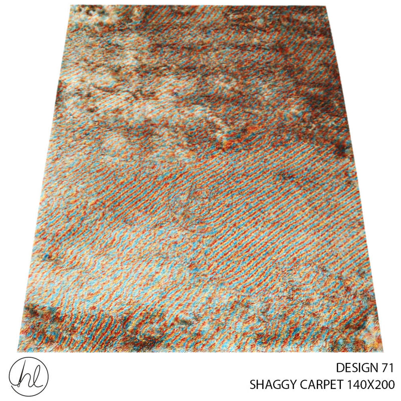 SHAGGY CARPET (140X200) (DESIGN 71)